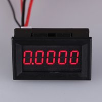 Wholesale Brand New A LED Digital Ammeter Digit Electric Current Tester Detector Ampere Meter Flexible Electric Current Meter