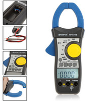 Wholesale HoldPeak HP B Automatic Polarity Indication Dual Display Clamp Meter Voltage Current Resistance Frequency Temperature Tester