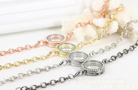 american living collection - 5pcs mm Silver Crystal round Circle Living Bridal collection in Chain Magnetic Birthstones glass Memory Locket Bracelet For Floating Charm
