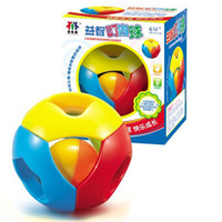 bell exercise ball - Colorful bell ball exercise listening and fingers flexible Souptoys Funny bells Baby puzzle learning toys