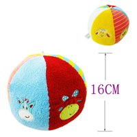 baby crawl ball - New Arrival Rattles Ball Mobil Baby Baby Plush Fabric Crawling Ball Educational Newborn Toy Gifts