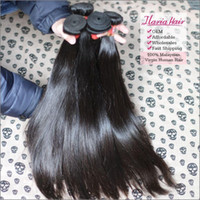 Wholesale Rosa Hair Products Malaysian Straight Virgin Hair Weave Extension A Unprocessed Human Hair Bundles pic
