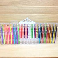 Wholesale PrettyBaby pen point plastic gel pen for secret garden coloring book gel ink pen set fine drawing pens art marker pen colors By DHL Free