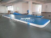 Wholesale m inflatable gym mat inflatable air track free pump repair kits