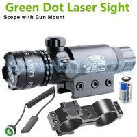 airsoft gun rifle - brand hunting Adjustable Green laser sight scope outside airsoft rifle scope riflescope hunting free Switch shipping Gun Rifle