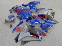 Wholesale NEW Blue Black Gloss Fairing INJECTION Kit Set CBR1000RR