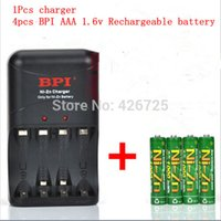 1.5v battery charger - 4 Pcs1 v mWh mAh aaa rechargeable battery nizn Ni Zn aaa v rechargeable battery set with aa aaa Ni Zn charger