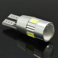 auto interior colors - New update colors T10 LED Auto Car Light Bulb SMD LED W5W V Interior Parking Projector Lens