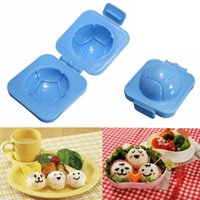 Wholesale Lovely Soccer Ball Onigiri Sushi Rice E gg Mold Home DIY Outdoor Bento Maker Kitchen Kit Cutter Tools