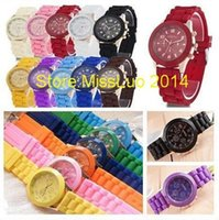 Wholesale Casual Watch Geneva Wristwatches Man Women Quartz Watch Women Dress Watch Women s Fashion Watches Round Analog Atmos Clo