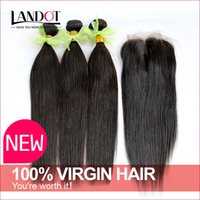 remy weave hair straight - 6A Peruvian Indian Malaysian Brazilian Hair Bundles Unprocessed Remy Human Hair Weave With Closure Brazilian Straight Virgin Hair Extensions