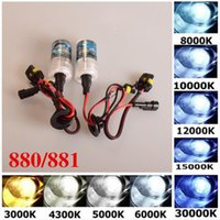 Wholesale 2pcs Car Xenon HID Headlight W V Bulbs Headlight K K K K K K K K