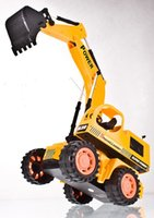 big engineering - big size RC car Excavator toys with electric toy car remote engineering stunt best gift for kids Channels