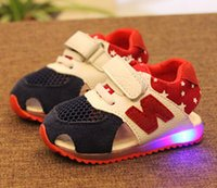 Wholesale 2015 summer child LIGHT sandals years old baby sport shoes baby fashion shoes child soft outsole baby toddler shoes SALE PAIRS SH