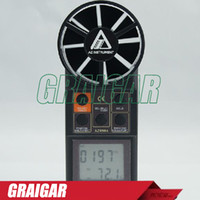 air velocity meters - AZ Air Temperature and Air Flow Meter Wind Speed Tester Air Velocity Meter