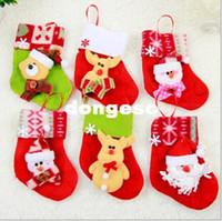 christmas tree - 12pcs Christmas Tree Decorations Christmas Tree Ornaments Christmas Stockings And Gloves Ornaments Drop Shipping EH089