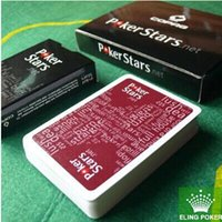 black paper - have colors can choose wine red and black plastic playing cards poker stars hot selling new top sale freeship