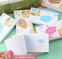 Wholesale 2015 Mini Memo Pad Sticky Note Kawaii Paper Scrapbooking Sticker Pads Creative Korean Stationery