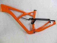 carbon mountain bike frame - 2015 New Arrival er full suspension mountain bike frame MTB bicycle carbon frames ems