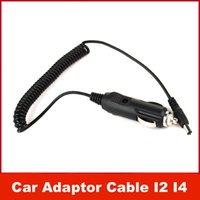 Wholesale Hot sale Car Adaptor Cabler for Nitecore I4 I2 Charger Car Charging Cable USb cable black