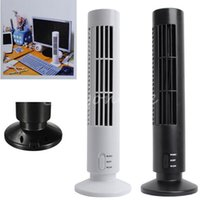 Wholesale Modern Design High Quality Portable USB Mini Bladeless No Leaf Cooling Cool Desk Tower Fan Home Office Decoration