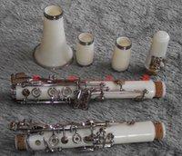 Wholesale New Bb Clarinet White Color Keys