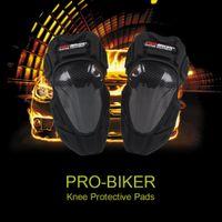 Wholesale PRO BIKER Knee Pads Body Protect Guard Motorcycle Kneepad Racing Bike Riding Skating Outdoors Sports Protector K3546
