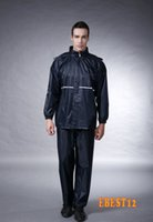 Wholesale Electric motorcycle fashion raincoat men and women fission rain suit pvc raincoats for girls