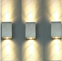 Wholesale New W LED wall lamp wall sconce lamp hallway lamp light warm white aluminum