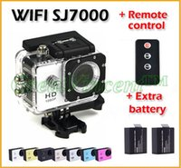 action ir cameras - 2015 new Arrival SJ4000 Style Sports DV Full HD P inch IR Remote Control SJ7000 Camera Wifi Action Camera battery