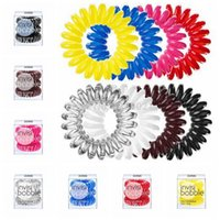 Cheap invisi bobble traceless hair rings Best Quality Plastic detangling hair band