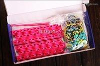 rainbow loom - New Arrival Frozen Fun colourful loom bands DIY bracelets rubber rainbow band Anna Elsa bracelet toy for children child