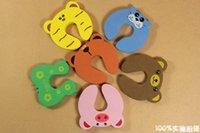 Wholesale Optional color cartoon images of child safety gate card doors security door stop doorstop thick EVA