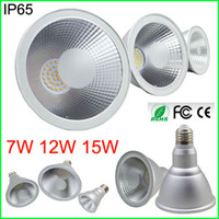 Wholesale LED Bulb Par20 Par30 Par38 LED Spot W W W E27 LED Spotlight IP65 LED Par Light V White Warm White LED downlight lamp Lighting