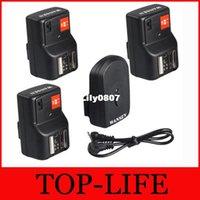 Wholesale WANSEN WSPTGY0413 PT GY Channels Wireless Remote Speedlite Flash Trigger Receiver For ETC