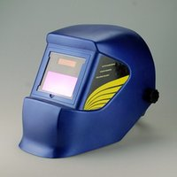 Wholesale Exported to Europe and high quality auto darkening welding helmet WH4400 blue