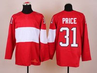 Cheap 2014 Sochi Olympic Hockey Jersey #31 Carey Price Red Ice Hockey Jerseys