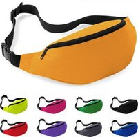 Wholesale Factory Price Colors Unisex Sports Running Gym Bum Bag Travel Money Storage Pouch Waist Belt Pack Zip