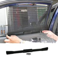 Wholesale Stylish cmAutomatic Retractable Side Window Car guard Curtain Sun shading Curtain Stoopable Automatic Blinds