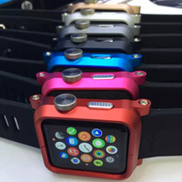Wholesale 2015 Luxury Branded Case for Apple Watch Ultra Thin TPU Silicone Soft Cover for Apple iWatch mm mm Iwatch Case Free Singapore Post