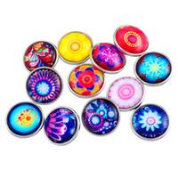 Wholesale mix styles Chunks zinc alloy enamel crystal Noosa mm snap ginger snap button Chunks Clasps Snap Jewelry E329J