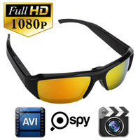 action audio - 32Gb HD P Mini DVR spy sunglasses camera Audio Video Recorder Bolon Style Sunglass Spy Glass Hidden Camera Sports Action Camera