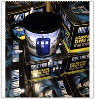 awesome coffee mugs - Winter Cup Doctor who Mug Disappearing Tardis mug with Original Box Awesome Heat sensitive Police Coffee Cup Doctor Who christmas mug Dhgate
