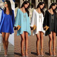 Cheap 2015 New Autumn Women Dress Clothing European and American Vestidos V Neck Sexy Celebrity Dress Long Sleeve Ruffles Casual Dress