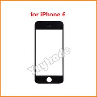 Wholesale 30pcs DHL For iPhone Inch Front Glass Lens Touch Touch Screen Cover Replacement Parts For iPhone G Black And White