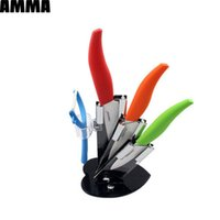 acrylic kitchen tops - AMMA top quality gifts zirconia ceramic knife set quot quot quot inch knife peeler acrylic knife holder kitchen