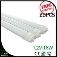 Cheap 18W 1.2m 4ft Led T8 Tube Lights 1600 Lumens Warm Natural Cool White SMD Led Fluorescent Lamp AC 150-260V + CE ROHS UL FCC + Warranty 3 Years