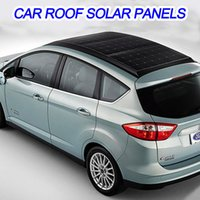 automobile film - Solar panels for car v W soft substance charger sunpower Silicon cell Electric car accessories Solar power generation system