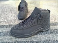 basketball list - 2016 Official New Listing Men s Gray Basketball Shoes Authentic Men Retro shoes Top Quality XII Sports shoes Size