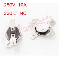 best thermostats - Best Price KSD301 C Celsius Temperature Switch Thermostat Thermal Protector Normally Closed Assorted Kit